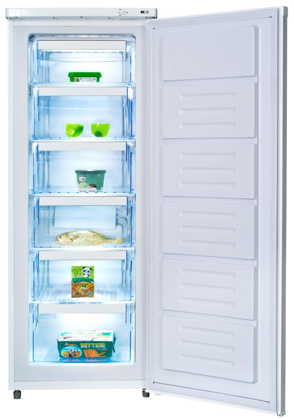 188l Frost Free Upright Deep Freezer Room With 6 Drawer