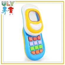 Funny music Baby toy mobile phone with musical baby toys learning phone