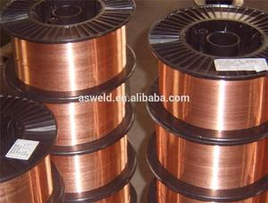 Hot selling co2 automatic copper coated welding wire copper coated wire drum/ pail packing 15kg spool for wholesales