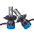 Motorcycle Auto lighting system Car led headlight H4 K3 Led H7