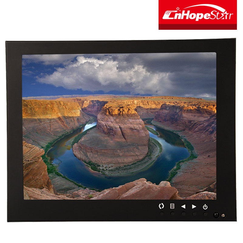 usb powered 4:3 8inch pos touch screen 800x600 lcd monitor