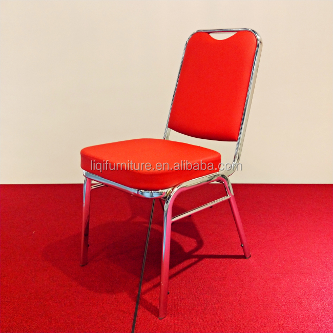 Banquet Stacking Chrome Chair