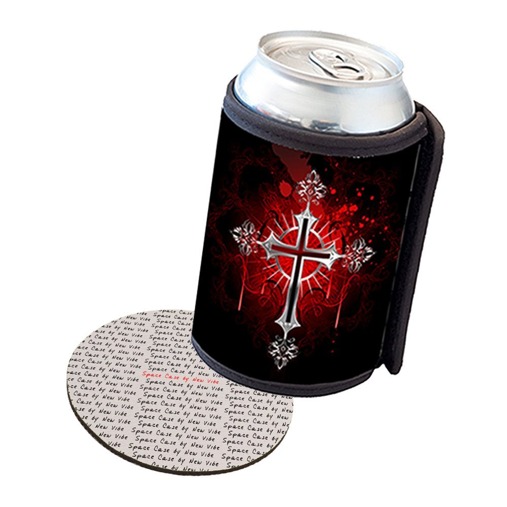 Space Case by New Vibe Can Cooler Koozie - Vampire Cross