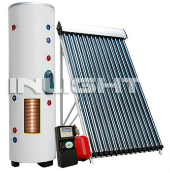 Split Pressurized Solar Hot Water Central Heating System - Buy Split ...