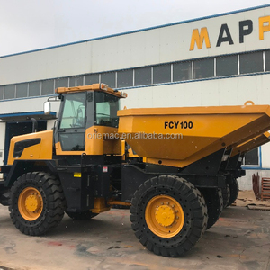 New condition china tipper FCY100 10 ton wheel site dumper
