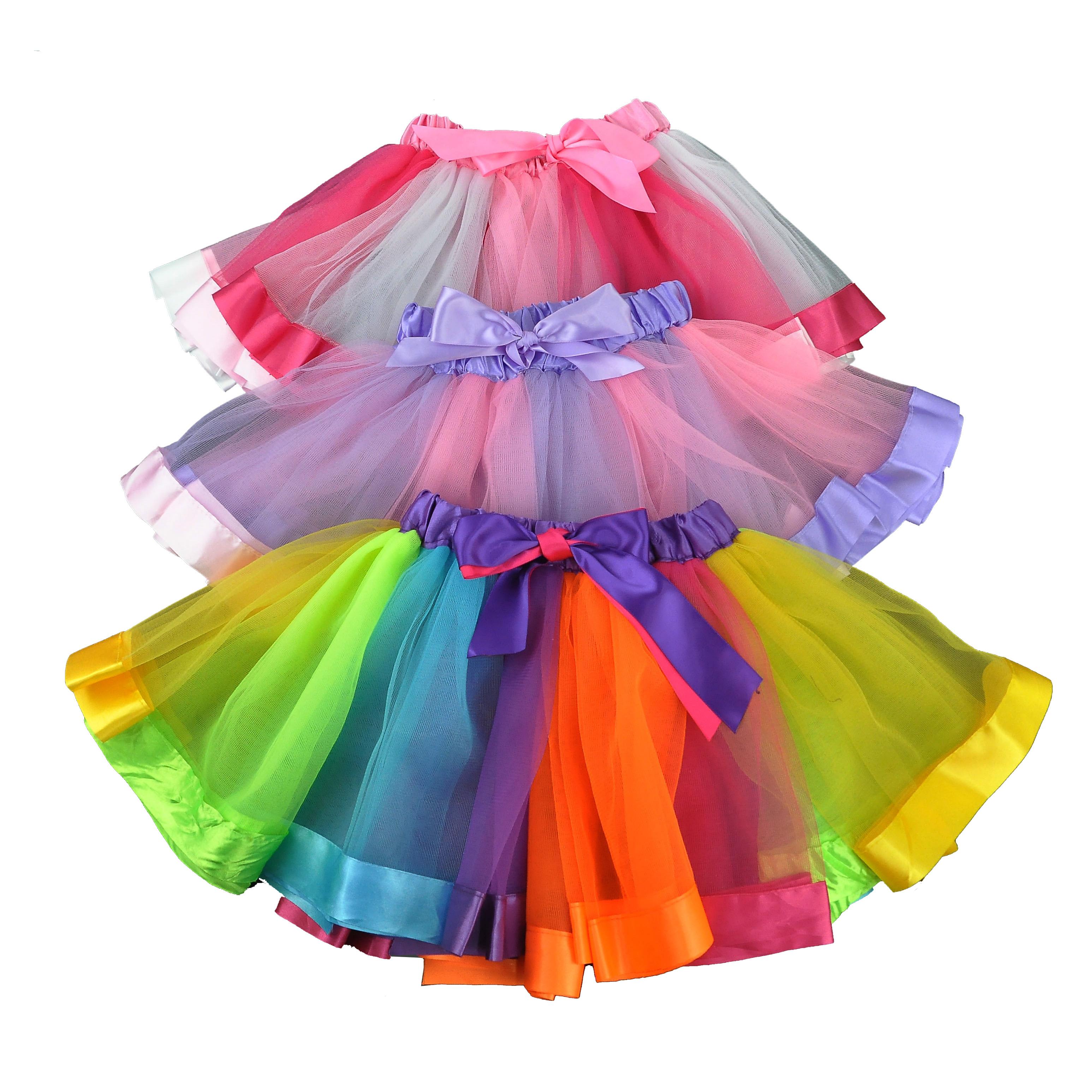 b59777b34f609 Bébé fille tutu robe filles robe enfants robe de ballet enfants jupe. 0  commandes. Dernier été tutu jupes anniversaire arc-en-ciel ...
