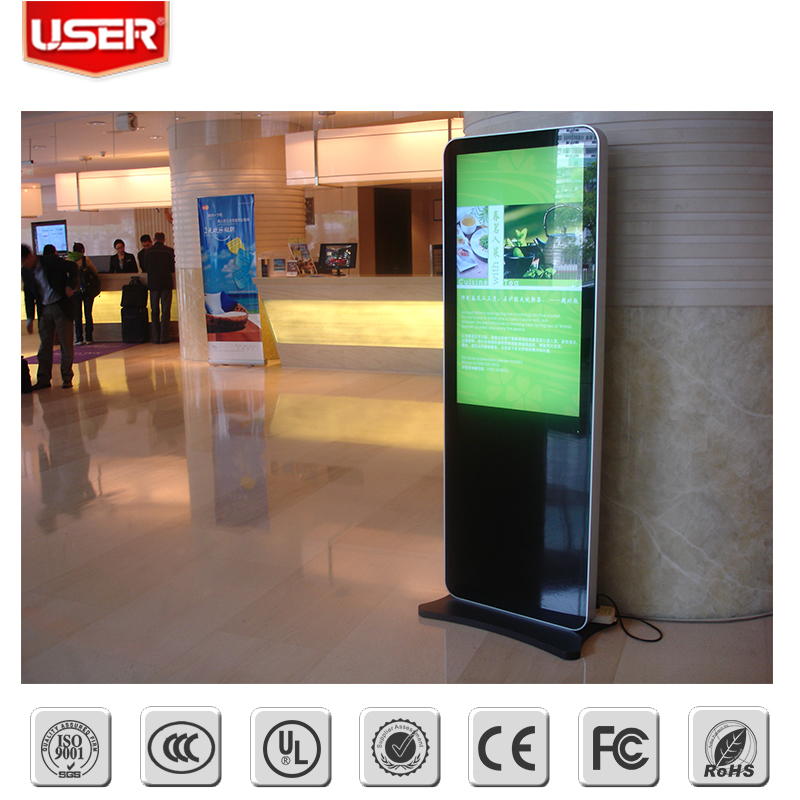 High quality interactive air conditioner display stand with wifi 3g