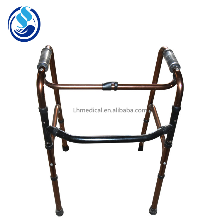 Height Adjustable Adult Walker For Elderly Disabled People