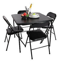 Folding Dining Table and Chairs Dining Set