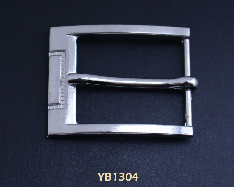 Charming style high quality pure silver belt buckle for men