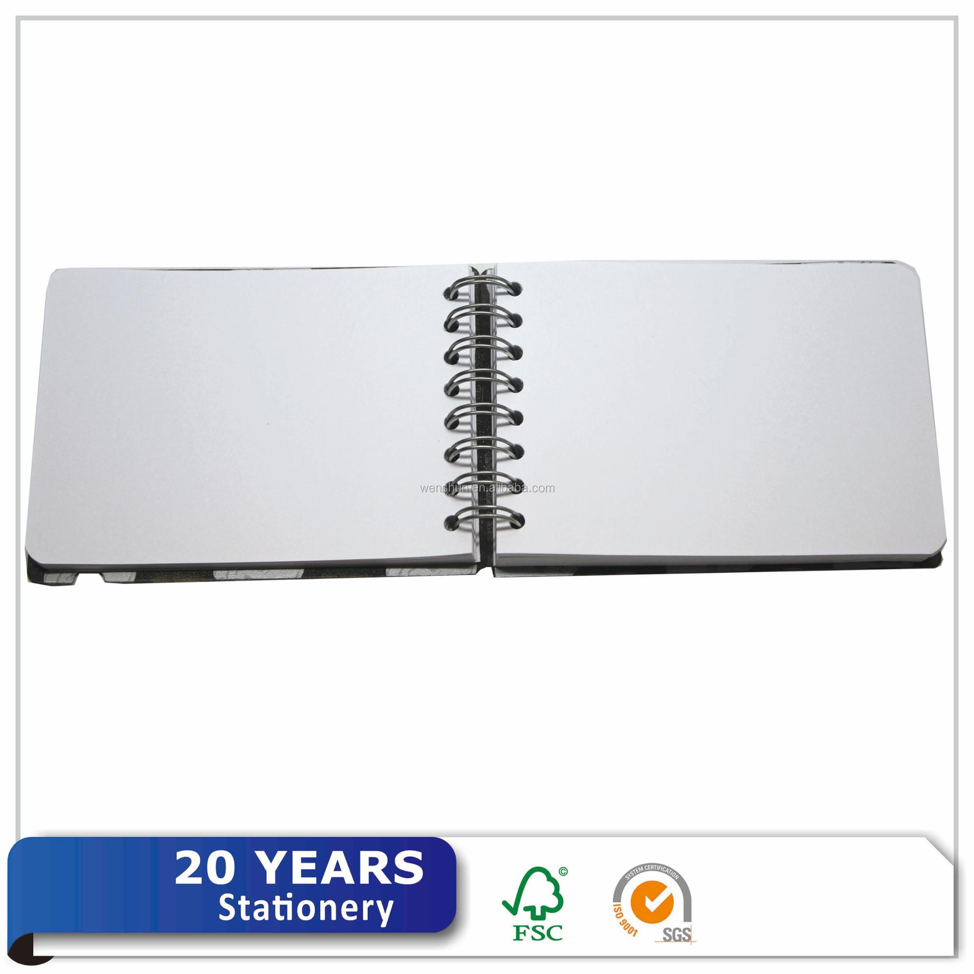 Cheap Price Small Size Plastic PP Cover A6 Pocket Notebook