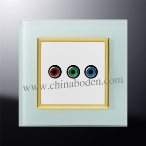 Fashion Style Television Cable TV Wall Socket