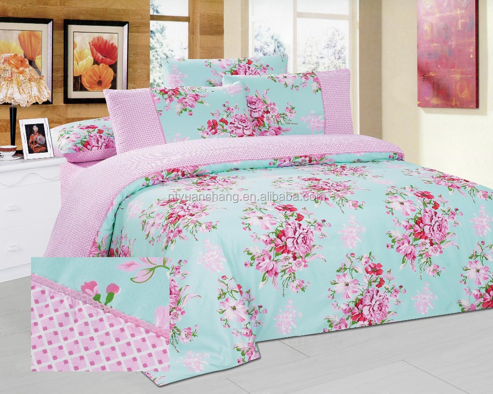 polyester luxury lace bedding sets home textile
