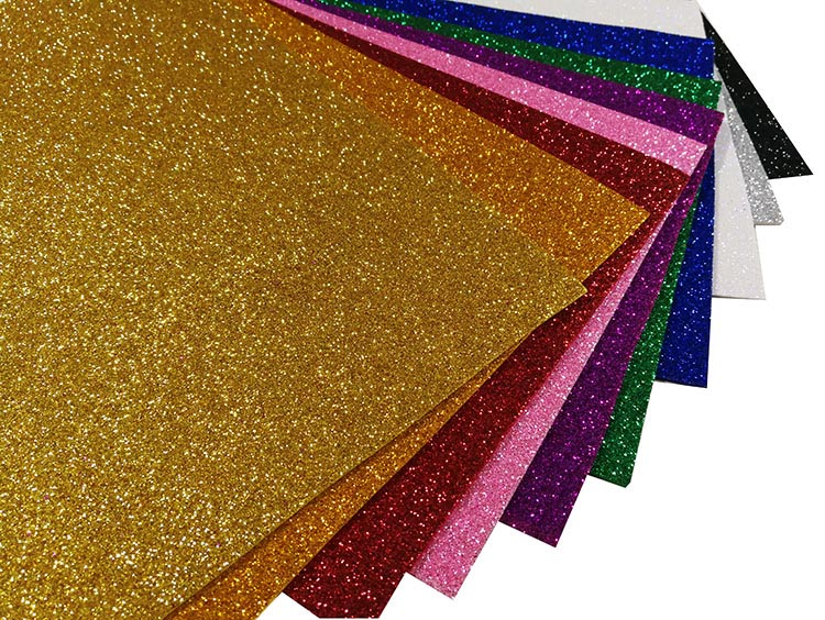 2mm Colorful Glitter EVA foam , Glitter EVA Foam sheet