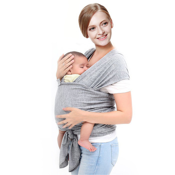 2017 Customizable Baby Carrier Wrap Stretchy Cotton Fabric Infant