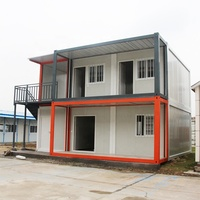 2018 hot sale prefab modular sandwich panel steel frame malta container house office
