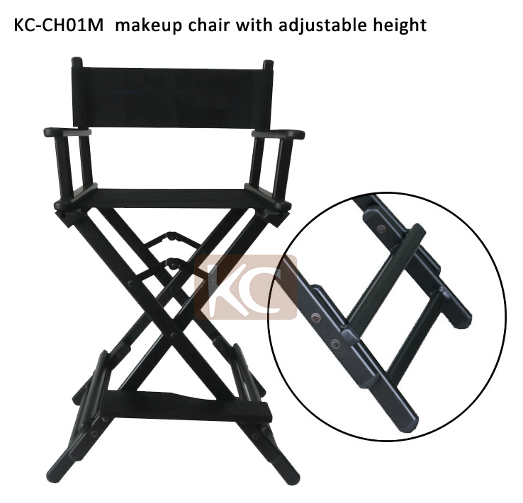 New Design Used Cheap Portable Aluminum Folding Director Chair, Height  Adjustable Folding Chair