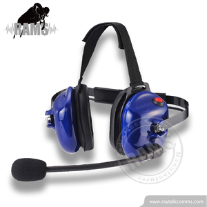 For Motorola two way radio behind the head noise cancelling headset