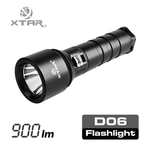 XTAR D06 XM-L2 U2, XTAR professional & hot selling Diving flashlight.Max output of 900 lumens Diving flashlight