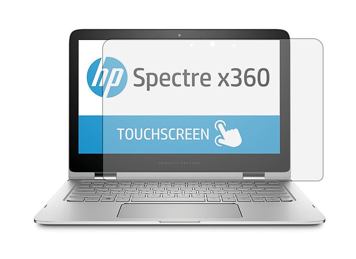 """PcProfessional Screen Protector (Set of 2) for HP Spectre X360 2in1 13.3"""" Touchscreen Laptop High Clarity Anti Scratch filter radiation"""