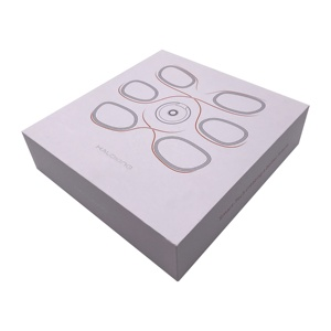 Directly China factory produce gift box lid and bottom white wedding favor box luxury bridesmaid packaging box