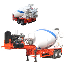 concrete mixer truck trailer