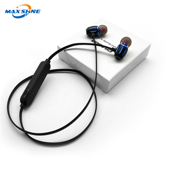 Maxshine 2018 best wireless blue tooth earphone headset sport blue tooth handsfree