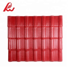 Red Color ASA PVC Plastic Synthetic Resin Residential Roof Sheet