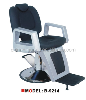 2015 Modern Barber Chair For Sale Hi Quality Leahter Hairdressing Chair  With Big Pump And