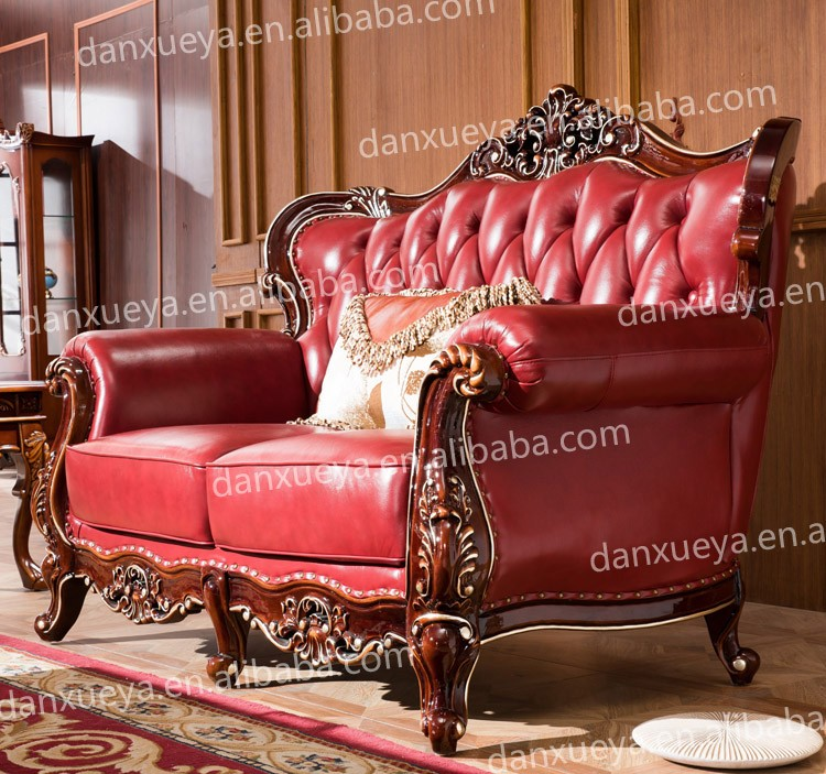 Danxueya Antique Living Room Sofa Sets Indonesia Furniture