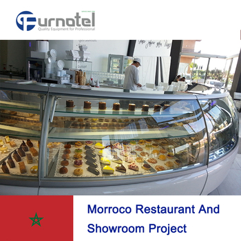 Shinelong present in Morroco- Marrakech famous coffee & ice cream