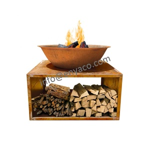 China supplier BBQ brazier charcoal table fire pit Outdoor