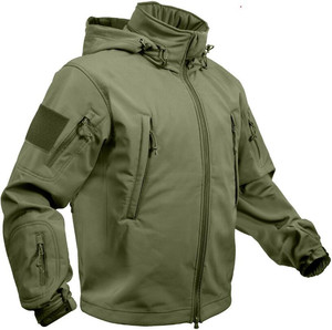 Professional Factory High Quality Custom Mens Softshell Tactical Jacket