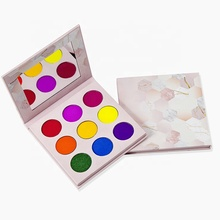 Logo Lidschatten-palette Private Label Hohe Pigment Lidschatten-palette Nach <span class=keywords><strong>Make-Up</strong></span>-Palette