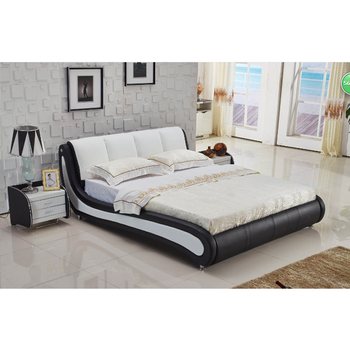 . Foshan Furniture Center Simple Design Modern Leather Bed Frame Beautiful  Soft Furniture   Buy Beautiful Soft Furniture Beautiful Soft