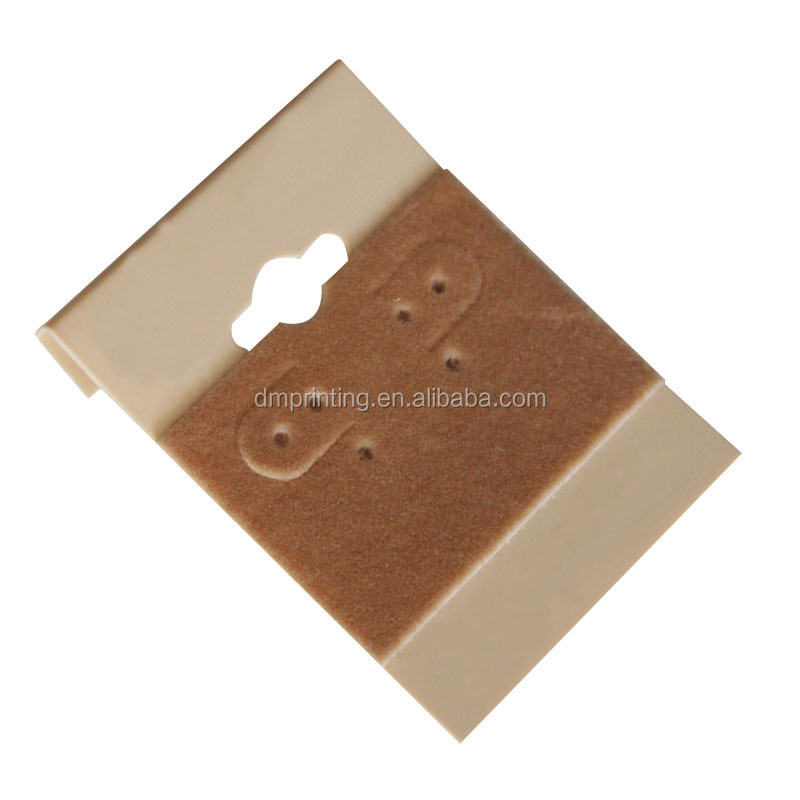 Wholesale Cheap Custom Logo Cardcoard PVC PP Jewelry Display Card