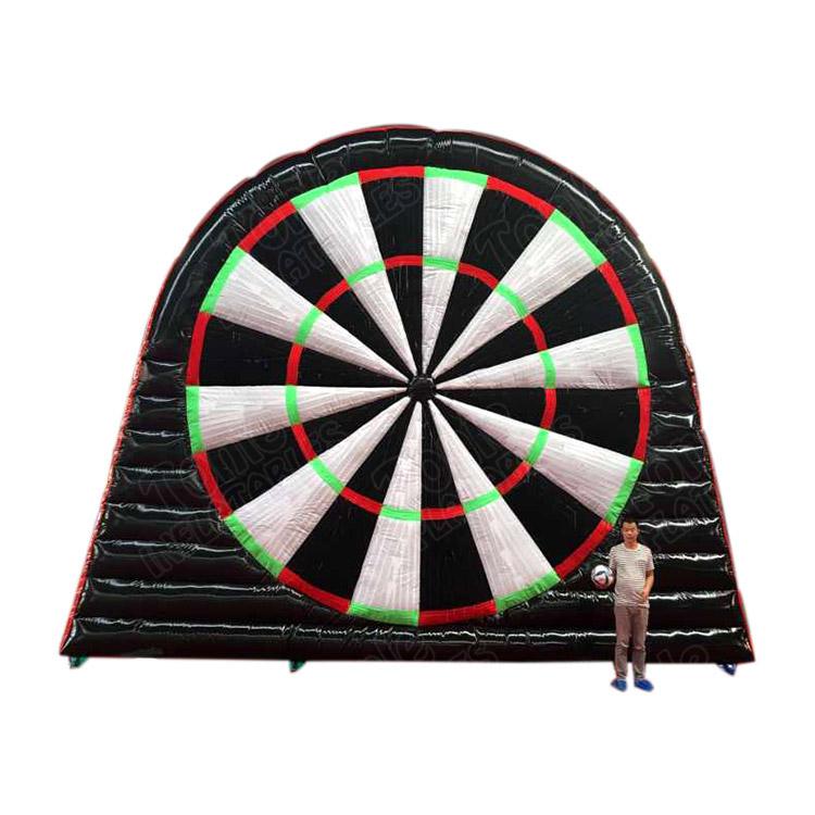 Ad Riesen Grosse Grosse Blow Up Aufblasbare Fussball Dart Board Aufblasbare Fussball Dartscheibe Fuss Darts Spiel Fur Verkauf