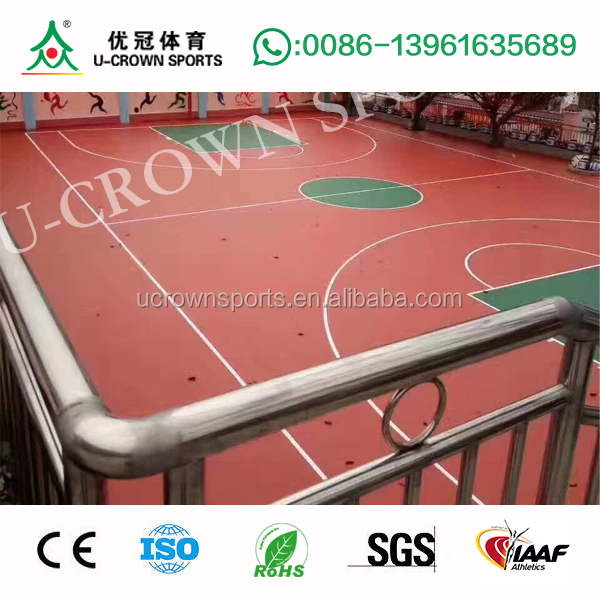 Supplier Basketball Court In Backyard Cost Basketball