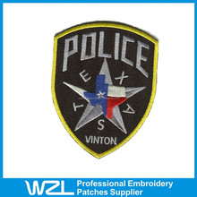 Hot selling custom embroidered star patches