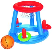 Bestway pool basketball play game center mini inflatable floating basketball hoop