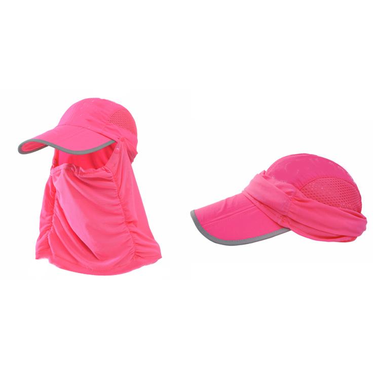 574b3722506 Men Women Outdoor Camping Hiking Fishing Baseball Cap Neck Face Cap Flap  Mask Hat