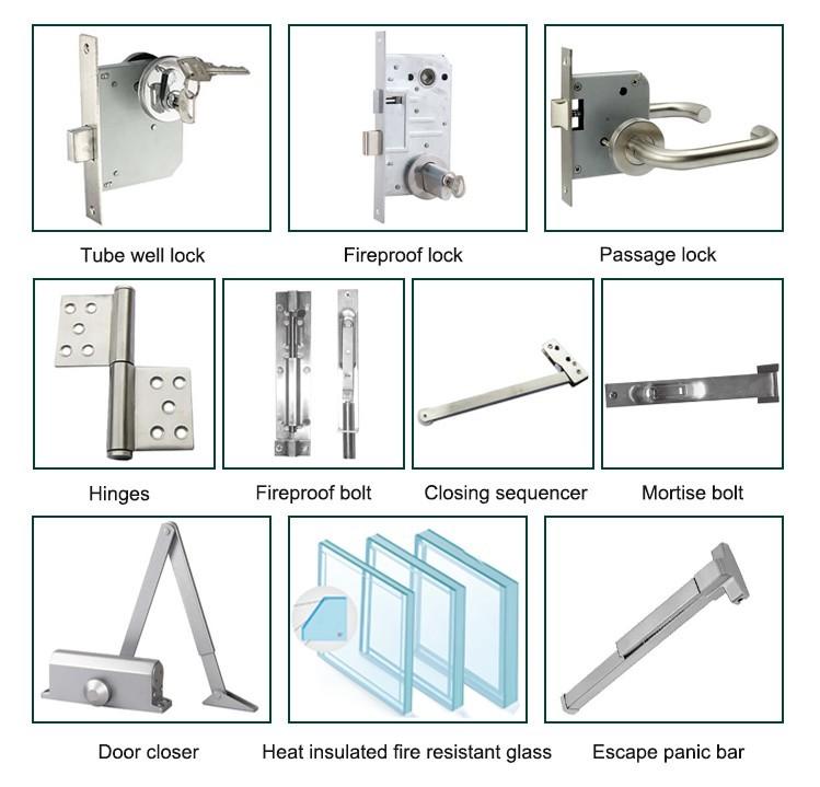 product-Zhongtai-High-grade Standard Wooden Fireproof Door for Building-img-2