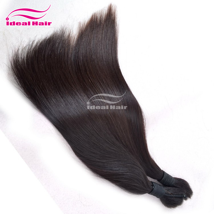 Alibaba hot selling natural wavy indian unprocessed virgin yaki bulk hair styles