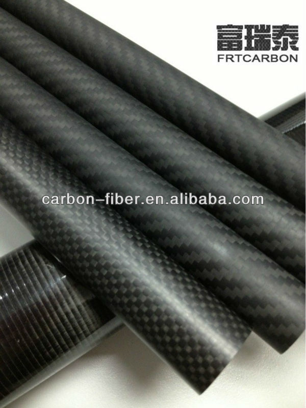 carbon fiber tubes special made for decorative walking canes