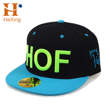 dcceab68120 New Style custom 6 panel era yupoong 3d embroidery logo hip hop snapback  caps hats