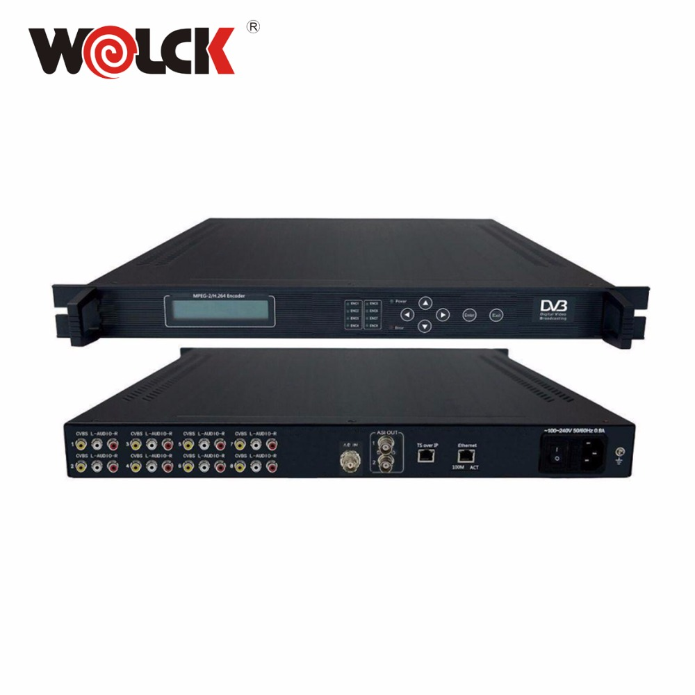 Digital Satellite TV IP ASI Streaming Video MPEG2 Encoder