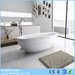Simple Design 1800mm Size Freestanding Bathtub for Fat People
