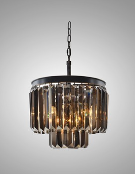Ic20538 7bl sm smoke grey crystal chandelier part of home decor ic20538 7bl sm smoke grey crystal chandelier part of home decor crystal pendant light aloadofball Gallery