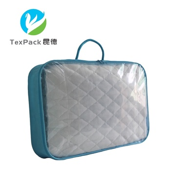 Clear Plastic Packaging Quilt Storage Bag Wire Bags For Blanket Duvets
