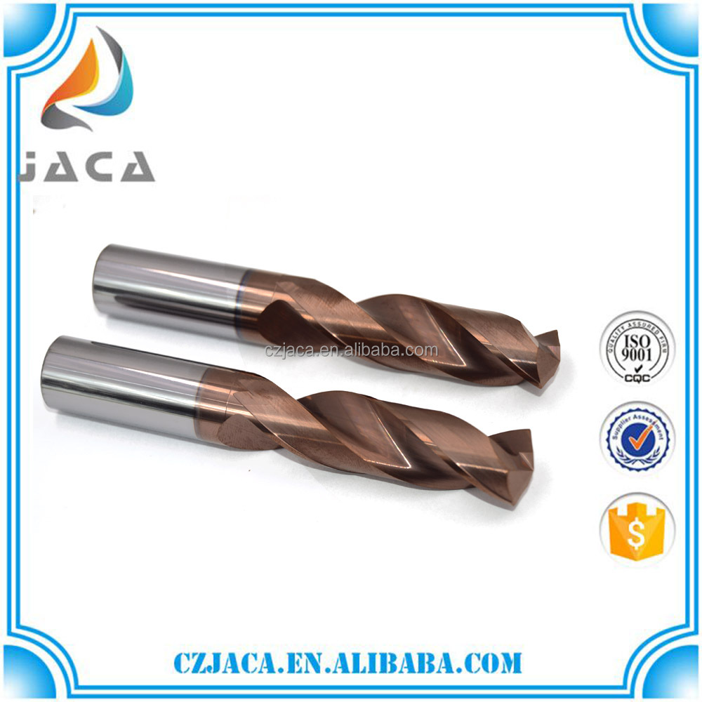 Solid Carbide Twist Drill BIts For Stainless Steel